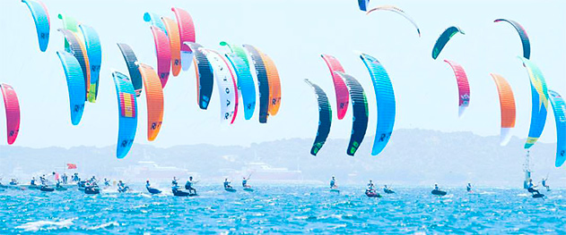 Formula Kite Spain - Competition in Dénia waters.