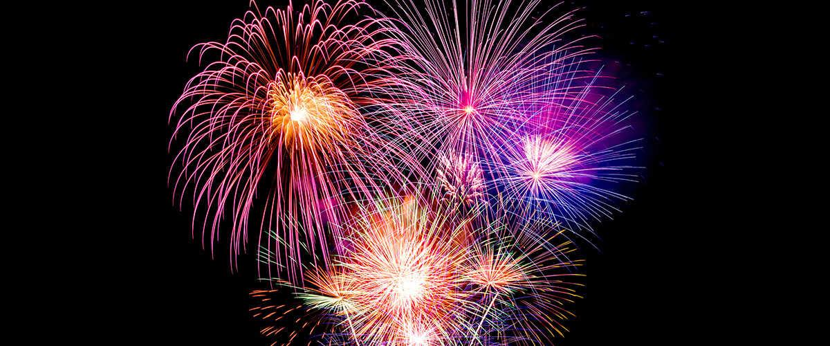 Abahana Villas - Fireworks in the fiestas of San Jaume de Benimarco.