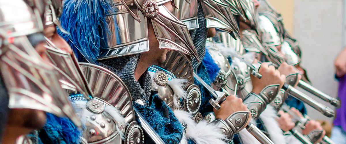 Abahana Villas - Gala costume of the Moors and Christians of Calpe.