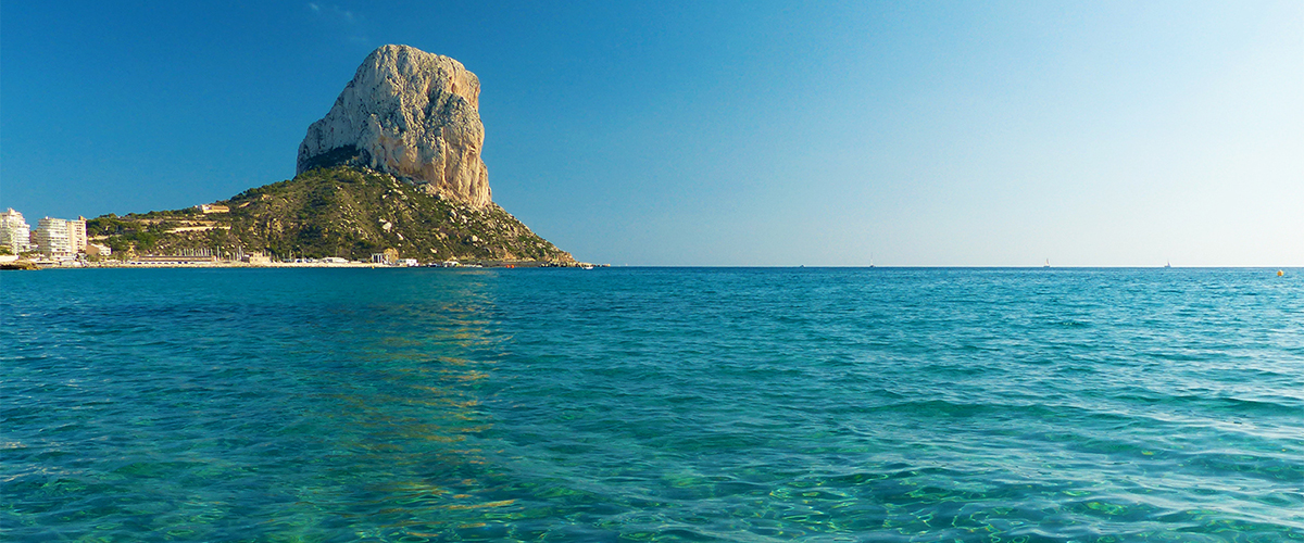 Abahana Villas - Crystal clear waters of the beaches of Calpe.