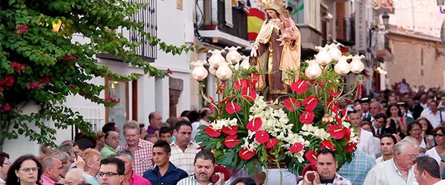 Abahana Villas - Fiestas patronales de Moraira.