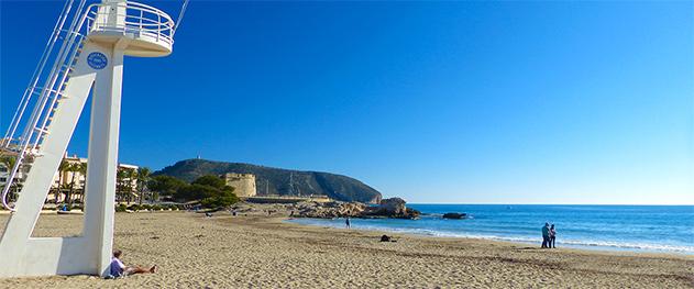 Abahana Villas - Playa de la Ampolla en el mes de Abril.