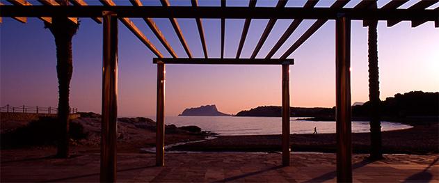 Abahana Villas - Atardecer en la playa de l'Ampolla.