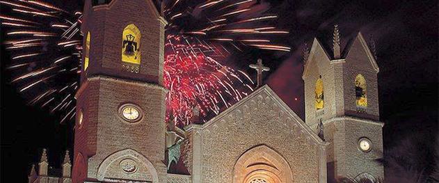 Turismo Benissa - Фейерверк на празднествах.