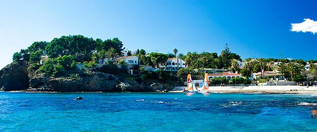 Turismo Benissa - Водные развлечения на пляже Ла Фустера.