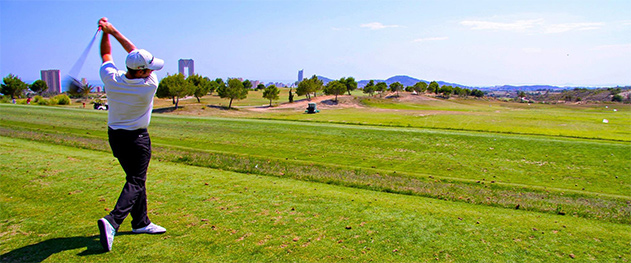 Turismo Benidorm - Поле для гольфа Бенидорм.