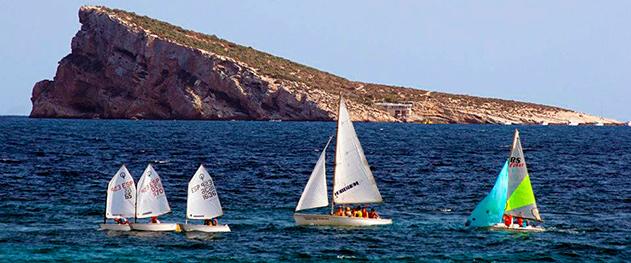 Turismo Benidorm - Парусная практика на острове Бенидорм.
