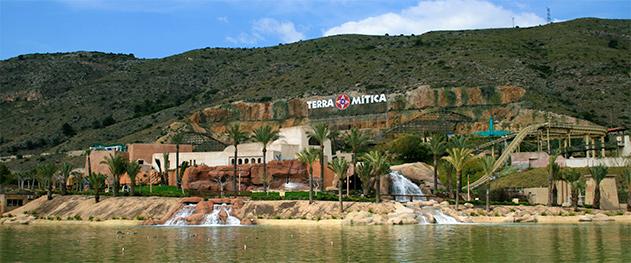 Turismo Benidorm - Парк аттракционов Terra Mitica.