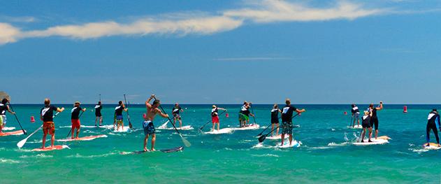 Abahana Villas - Jornadas de paddlesurf en la Fossa.