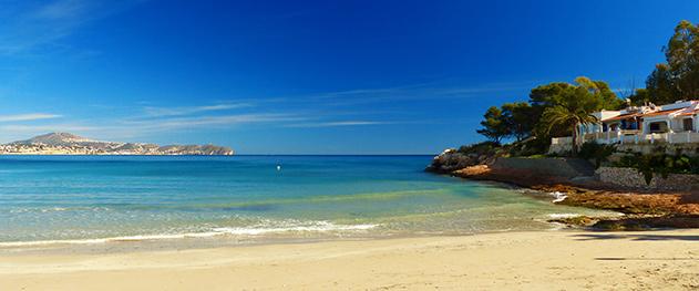 Abahana Villas - Relax en la playa de la Fossa.
