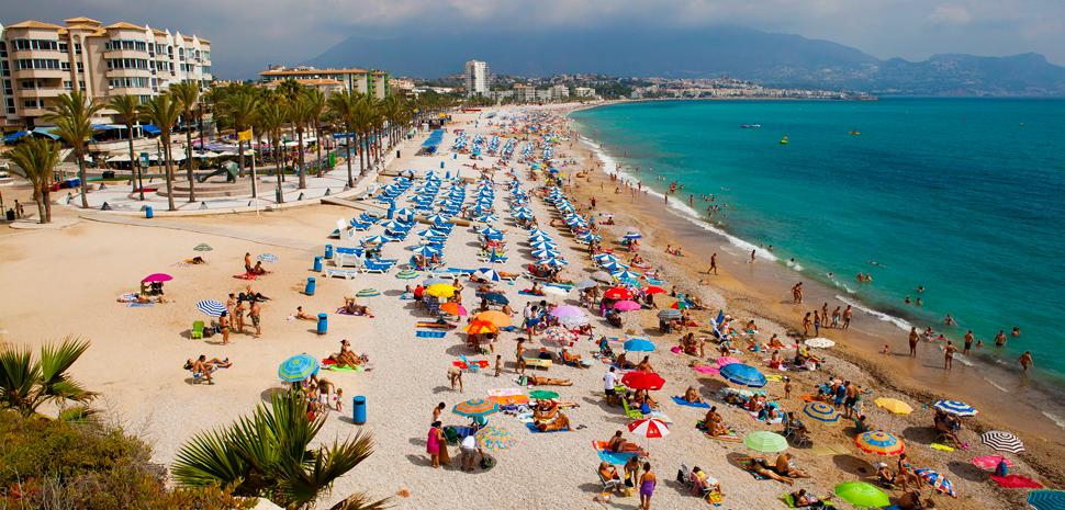 Abahana Villas - Пляж Кап-Бланк в Альтеа.