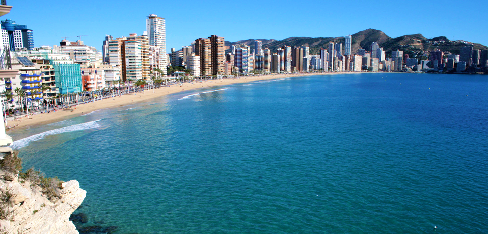 Abahana Villas - Levante Beach in Benidorm.