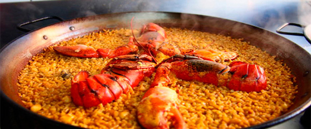 El Cantal - Paella from the restaurant in Calpe El Cantal.