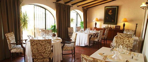 Casa del Maco - Comedor interior del restaurante.