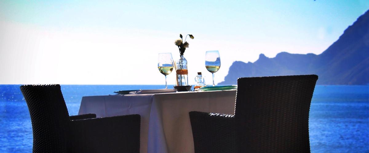 L'Olleta - Seaside Tisch im L'Olleta Restaurant in Altea.