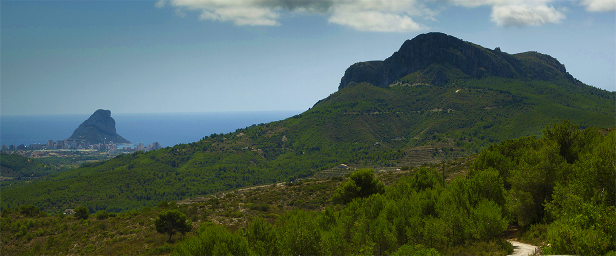 Abahana Villas - View of Mount Oltá.