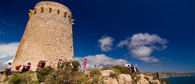 Turismo Moraira - Excursión a la Torre de Cap d'Or.