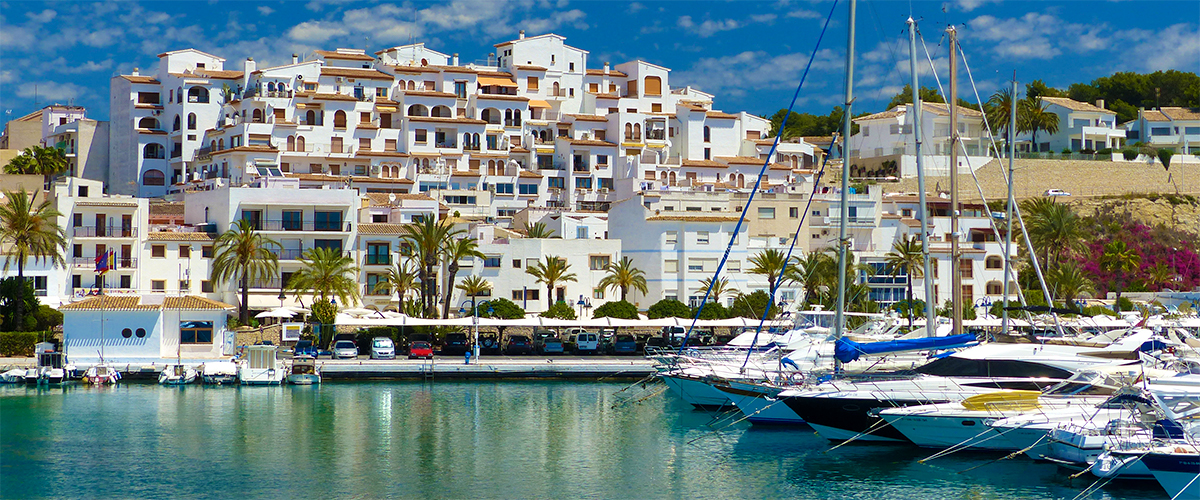 Abahana Villas - View of the Fort of Moraira from the harbor.