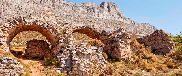 Turismo Altea - Ruinas del Fortí en la cara de Altea.