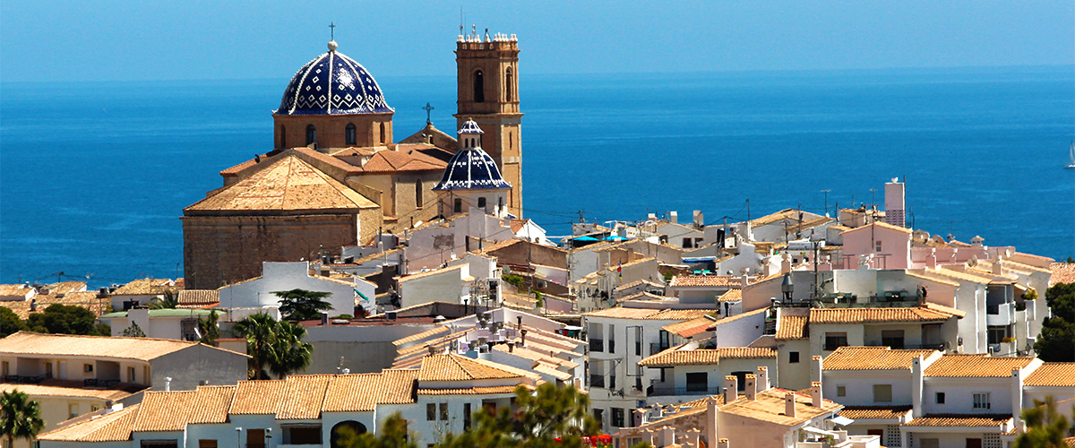 Abahana Villas - Cobbled street of the Old Town of Altea.
