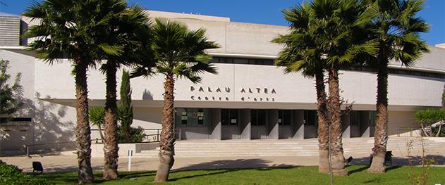 Abahana Villas - Fachada del Palau de Altea.