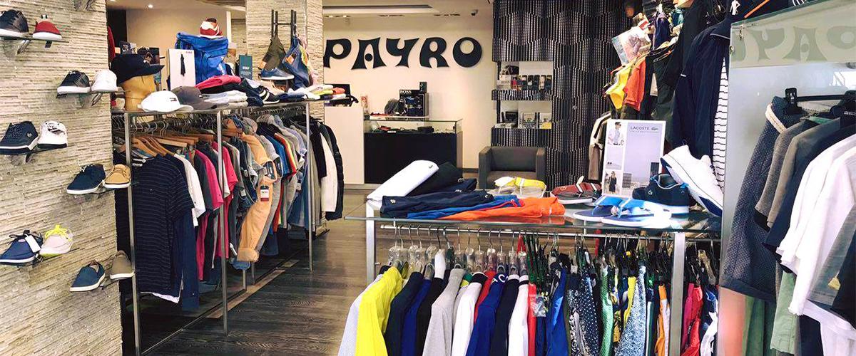 Abahana Villas - Moda de hombre en la boutique Payro en Benidorm.