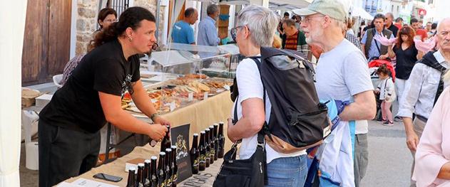 Mercat bio Xaló - Artisan beer made in the region.