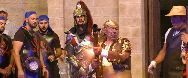 Turismo Benissa - Espectáculo de la reconquista cristiana.