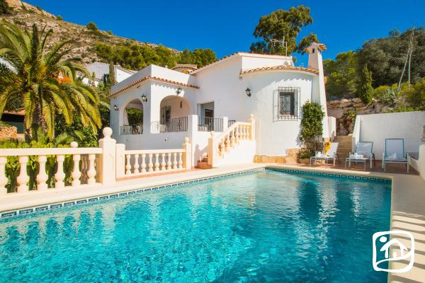 Alquiler villa SEA VIEWS en moraira
